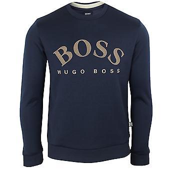Hugo boss salbo men's navy sweatshirt