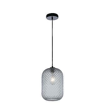 Fan Europe Luce_Ambiente_Design - Pendentif Dôme de verre, Gris, E27