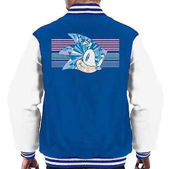 Sonic der Hedgehog glänzend Prisma Men's Varsity Jacke