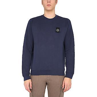 Ma.strum Mas4365m418 Men's Blue Cotton Sweatshirt