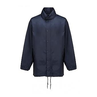 Balenciaga 646941tio544100 Herren's Blaue Nylon Outerwear Jacke
