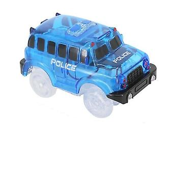 Magic Electronics Led Car With Flashing Lights, Glow Racing Toy