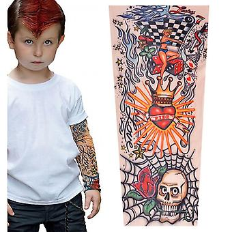 Sleeves Kids Summer Arm Sun Protection Sleeve, Hip Hop Sport Sleeves Arms