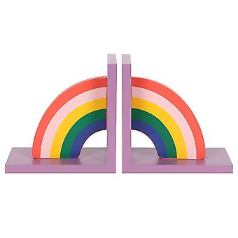 Something Different Rainbow Book Ends (Pack of 2)