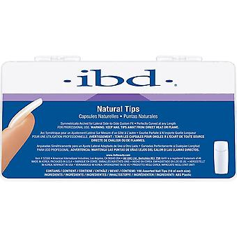 ibd Perfect Natural Tips (Pack Of 100) (52300)