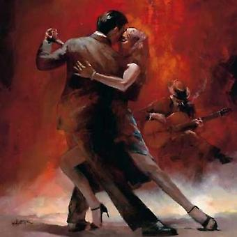 Tango Argentino II Poster Print by Willem Haenraets