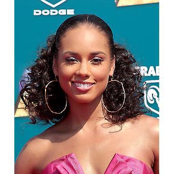 Alicia Keys på ankomster For 2008 Bet Awards Shrine Auditorium Los Angeles Ca juni 24 2008 foto af Adam OrchonEverett samling Celebrity