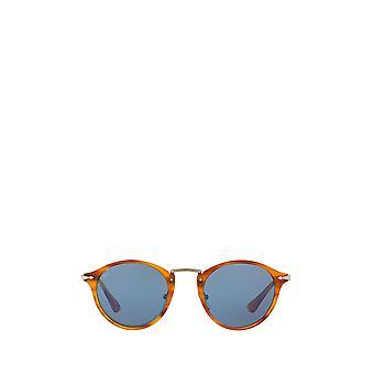 Persol PO3166S striped brown unisex sunglasses