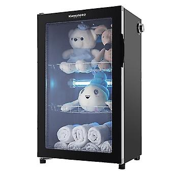 Commercial Hair Salon Beauty Towel Disinfection Cabinet, Vertical Timing
