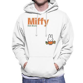 Miffy Holding Paint Brushes Men's Hooded Sweatshirt
