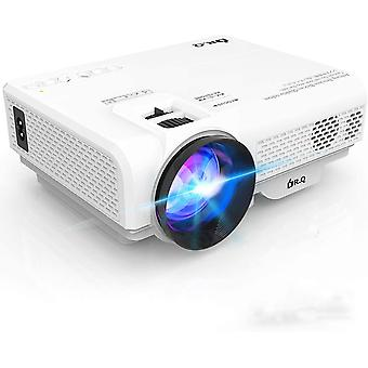 Projector, Mini Projector 4500 Lumen, Video Projector Supports 1080P HD