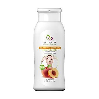 Exfoliating shower gel (Melissa and Peach) 400 ml