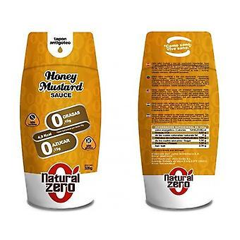 マスタードとハニーソースグルテンフリー 0% 脂肪 320 g