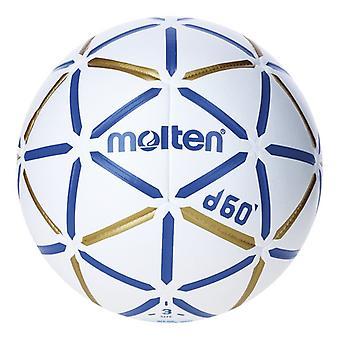 Ball for håndball smeltet H3D4000-BW lær (størrelse 3)