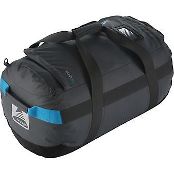 Vango Cargo 100 Duffel Bag - Carbide Grey/Volt Blue