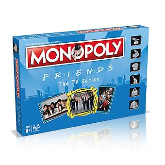 Friends board game monopoly