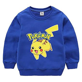 Printed Hoodies, Long Sleeves, Cotton,, Kids Sweatshirts Clothes, Top Coat