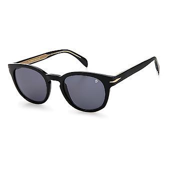 David Beckham DB1046/S 807/IR Black/Grey Sunglasses