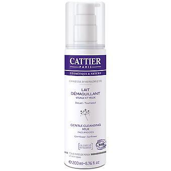 Cattier Gesichts- und Augenreinigungsmilch 200 ml