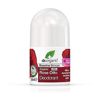 Dr. Organic Desodorante Rose Otto 50 ml