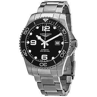 Longines Hydroconquest Automatic Black Ceramic Bezel 43 mm Men's Watch L37824566