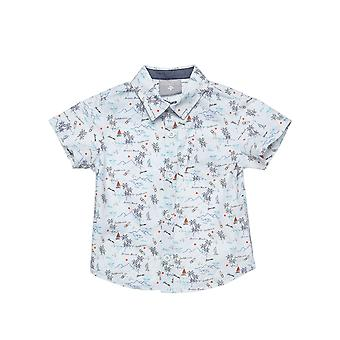 Alouette Boys' Shirt With All Over Print Summer Designs