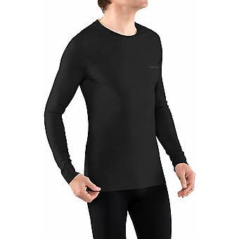 Falke Wool-Tech Light Regular Fit Chemise à manches longues - Noir