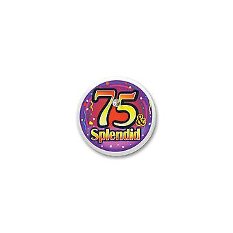75 & Splendid Blinkknopf (Pack von 6)