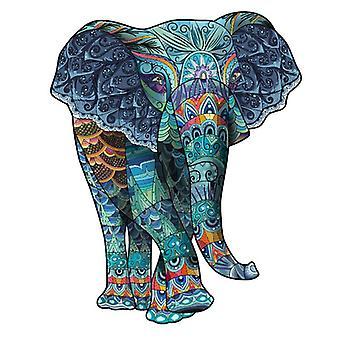 3D tre puslespill leketøy barn pedagogisk puslespill gave elefant form pt62