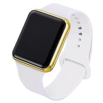 Fashion Casual Electronic Watch Acrylic Band Army Military Wrist Watch