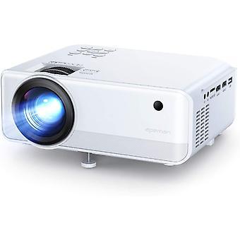 Wokex Tragbarer Mini-Projektor, 4500 Lumen, Native Auflsung von 1280 x 720 Pixeln,