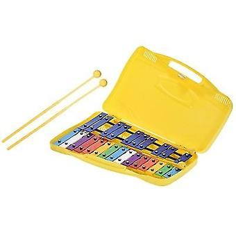 五颜六色的音符格洛克恩斯皮尔 Xylophone 打击乐节奏乐器玩具