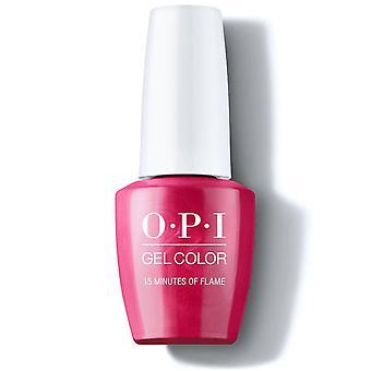 OPI Hollywood Collection Gel Color Gel Polish - 15 minuten vlam