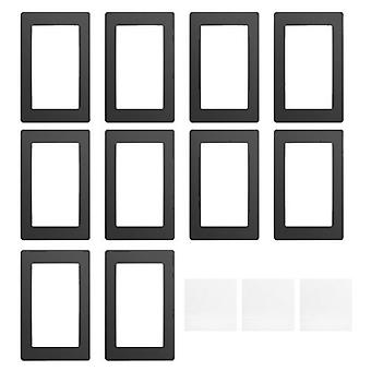 Black LCD Gasket 6.5 x 4.1in Protection from Resin Spill