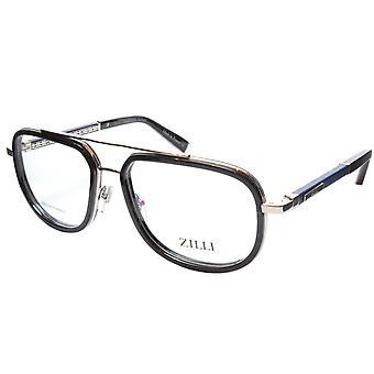 ZILLI Eyeglasses Frame Titanium Acetate Silver Blue France Made ZI 60021 C02