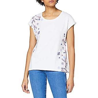 edc de Esprit 020CC1K347 Camiseta, 100/blanco, S Mujer