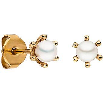 M&M Allemagne ME3382-400 Collection Océan Boucles d'oreilles femmes