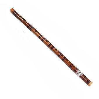 Ny bambus fløjte begynder kinesisk fløjte messing bambus Dizi musikinstrument ES6717