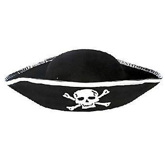 Tri Corner Pirate Hat - Kolmikulmainen Buccaneer-puku lisävaruste