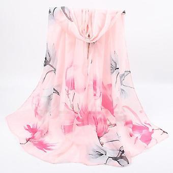 Women Spring Summer Silk Scarves