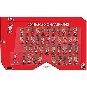 Liverpool FC SoccerStarz League Champions 41 Spelartrupp