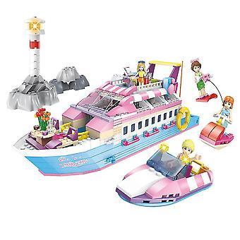 Princess Yacht Legetøj Børns Pædagogiske Legetøj Play House Legetøj Gaver til børn
