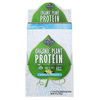 Garden of Life Orgaaninen kasviproteiini, Sileä vanilja 5 oz