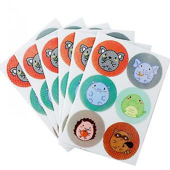 36 Pack Mosquito Guard Repellent Stickers For Kids, Natural Plant Based Ingredients