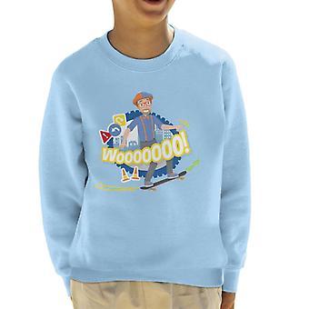 Blippi Skateboarding Kid's Sweatshirt