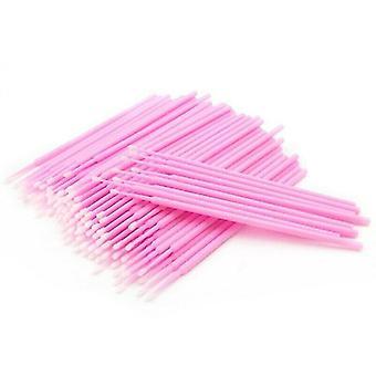Mikro-bawełniane patyczki, różowy