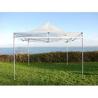 Vouwtent/Easy up tent FleXtenten PRO 3x3m Doorzichtig