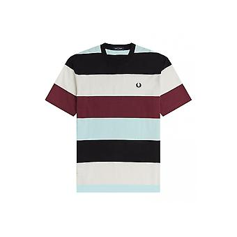 Fred Perry Bold Stripe T-Shirt (Black)