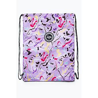 Hype Animal Print Drawstring Bag