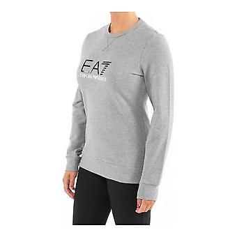 Women's long sleeve T-shirt Armani Jeans 6ZTM38 TJ24Z Grey
